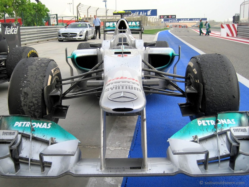 The Race Is Run - Mercedes after Bahrain 2012 F1 GP