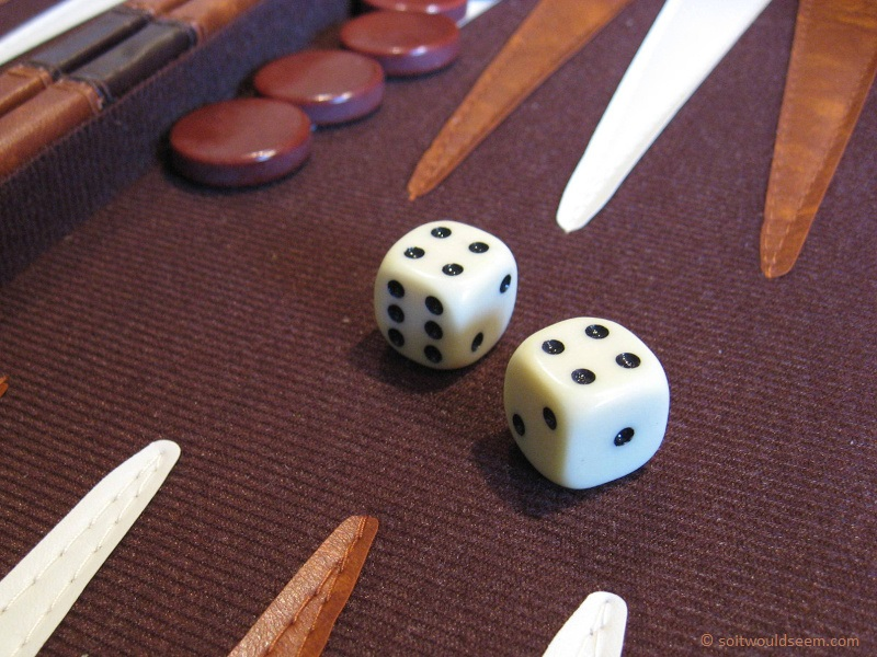 Make Mine A Double - the mysterious game of backgammon