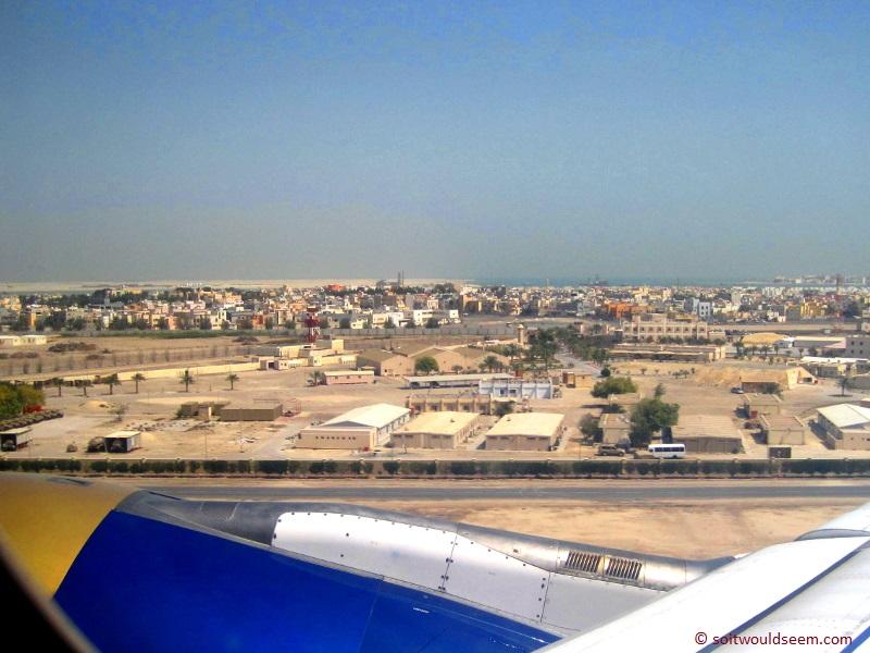 Farewell to Muharraq - Departing from Bahrain International Airport