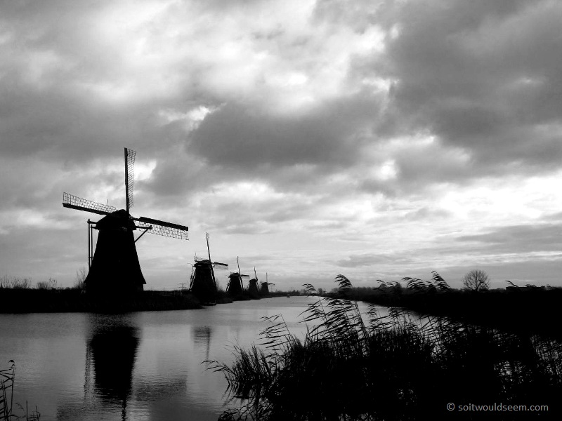 Kinderdijk I (The Sentinels) - Kinderdijk, The Netherlands