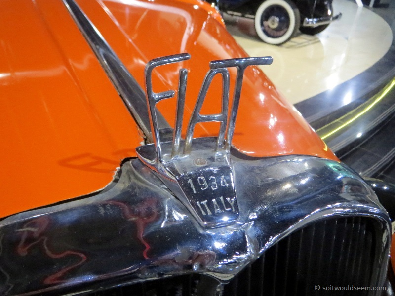 Fiatarancia - Fiat 509 in Classic Car museum, Sharjah, UAE