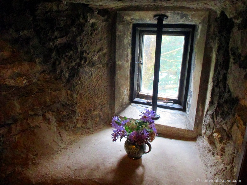 Dreaming - Vase of flowers at Sizergh Castle, Cumbria