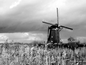 windmill kinderdijk netherlands